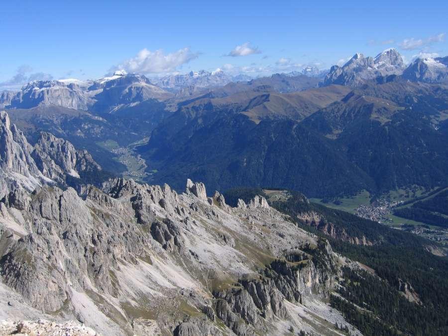Klettersteig Rotwand : Die schönsten klettersteige in welschnofen