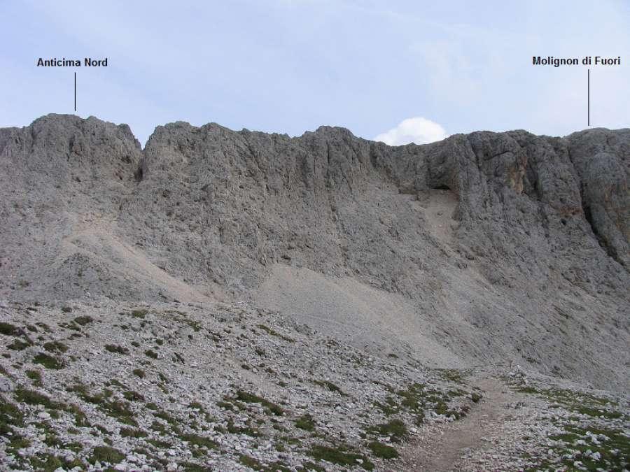 Klettersteig Rosengarten : Klettersteig u201elaurenzi molignonu201d die schutzhütten im rosengarten
